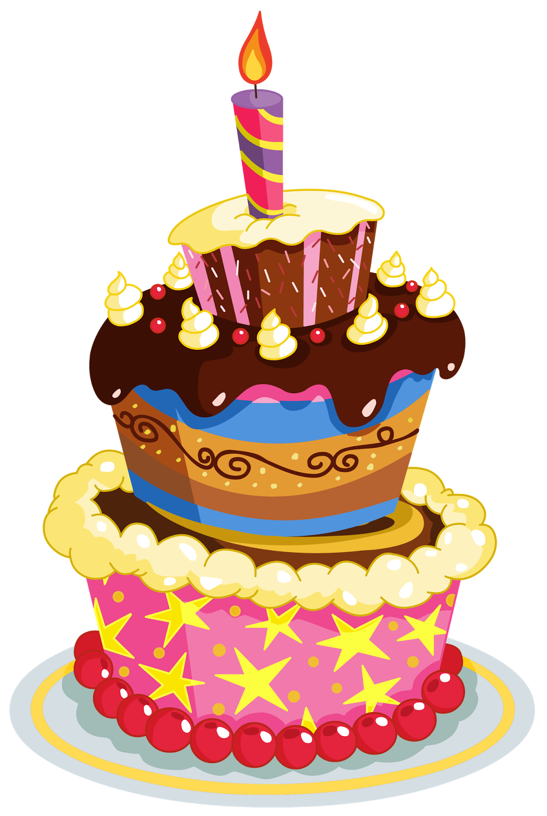 Birthday cake graphics clip art jpg transparent stock Happy Birthday Graphics Clip Art PNG Free Download | SMS Wishes ... jpg transparent stock