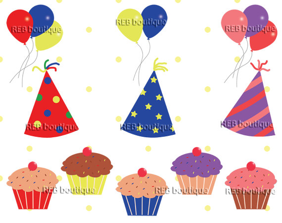 Birthday cake hat clipart image library download Birthday Cake Hat Clipart image tips image library download