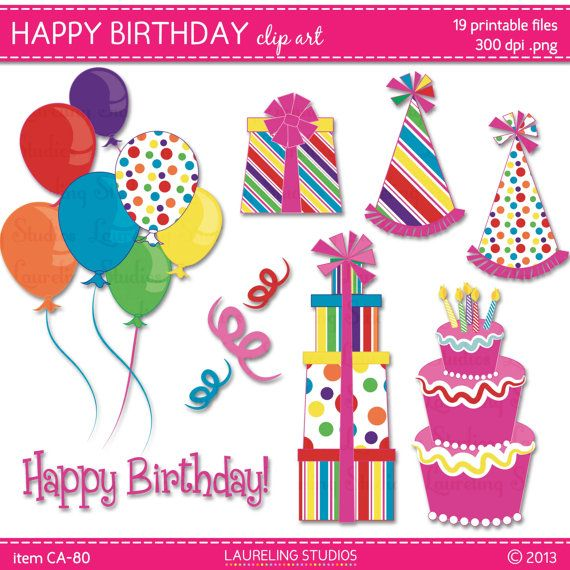 Birthday cake hat clipart clipart free library 10 Best images about birthday! on Pinterest   Birthdays, Happy ... clipart free library
