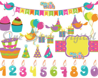 Birthday cake hat clipart image royalty free stock Birthday hat and cake banner clipart - ClipartFest image royalty free stock