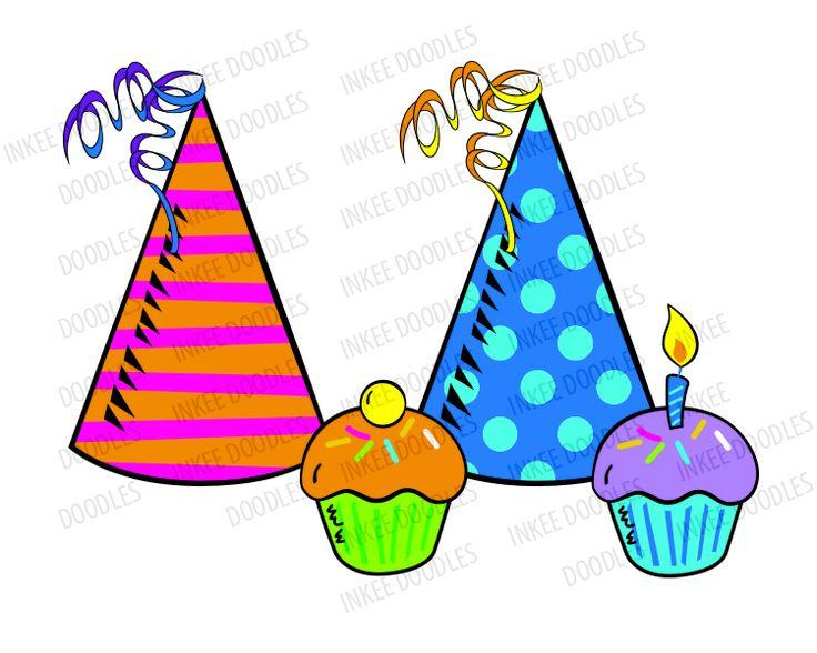 Birthday cake hat clipart svg stock Birthday cake hat clipart - ClipartFest svg stock
