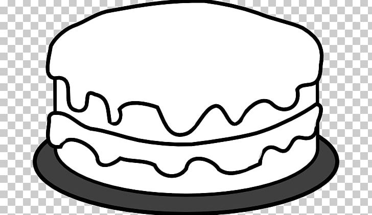 Birthday cake no candles clipart black and white picture free stock Birthday Cake Cupcake Wedding Cake Coloring Book PNG, Clipart, Black ... picture free stock