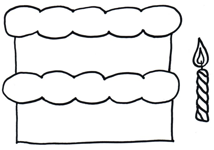 Birthday cake no candles clipart black and white image free download Free No Cake Cliparts, Download Free Clip Art, Free Clip Art on ... image free download