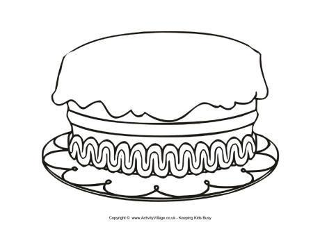 Birthday cake no candles clipart black and white vector freeuse download Birthday Cake Clipart Black And White No Candles - food recipes vector freeuse download