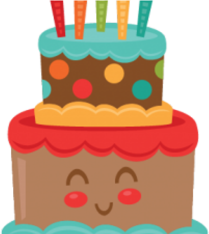 Birthday Cake Clipart Cute - Cute Birthday Cake Clipart - Download ... clip freeuse