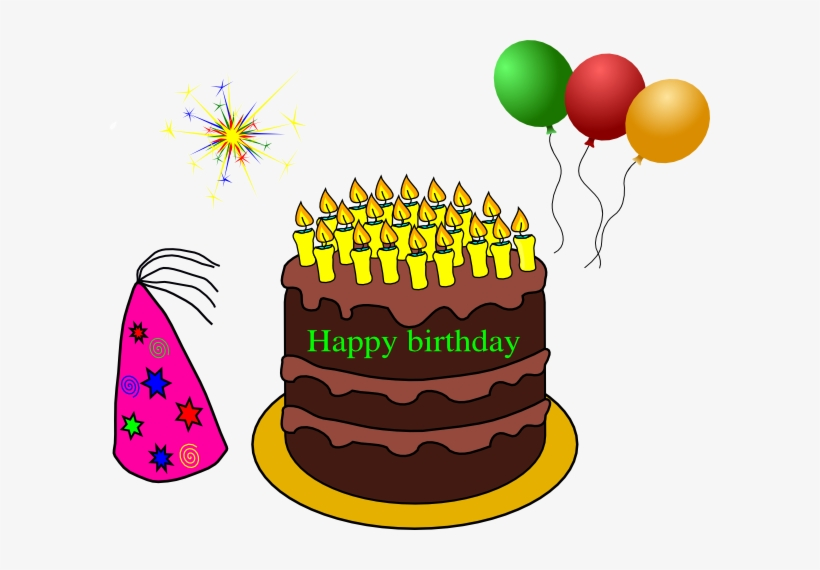 Birthday Cake On Fire Clipart Qvuxox Clipart - Balloons Clip Art ... svg black and white stock