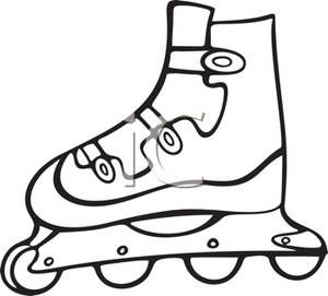 Rollerblade clipart