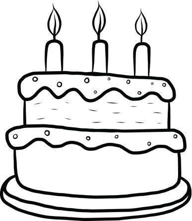 Birthday cake outline clip art clip download Birthday Cake Outline - ClipArt Best clip download