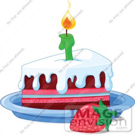 Birthday cake slice clipart png freeuse stock Strawberry Birthday Cake Clipart - Clipart Kid png freeuse stock