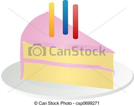 Birthday cake slice clipart jpg freeuse library Slice of birthday cake Illustrations and Clipart. 498 Slice of ... jpg freeuse library