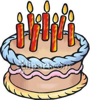 train birthday cake: Birthday Cake Candles Royalty Free Clipart Image jpg download
