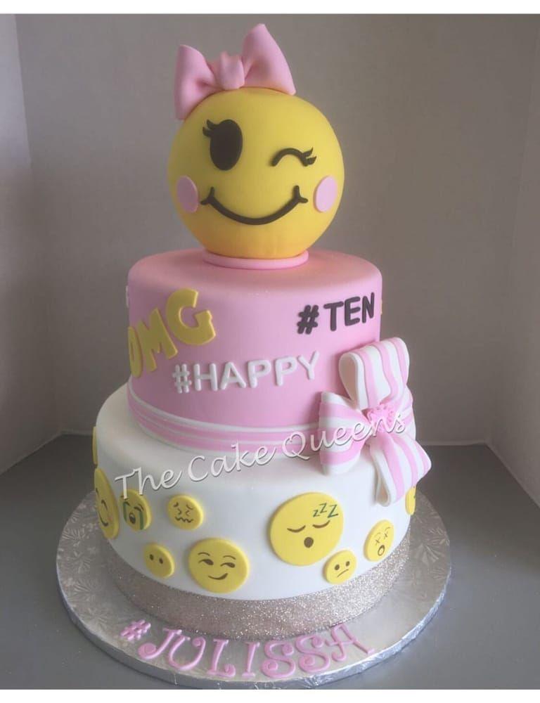 Birthday cake turning ten clipart svg library stock Emoji Birthday Cake - Yelp | Sweet Beauties | Emoji cake, 10 ... svg library stock