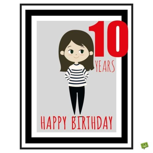 Birthday cake turning ten clipart image transparent download Happy 10th Birthday! | Wishes for a Special 10-year-old image transparent download