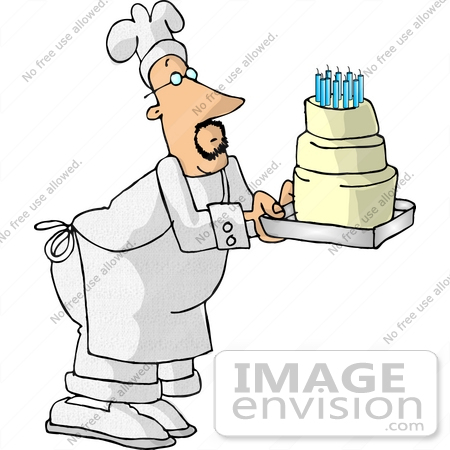Birthday cake with candles for boy clipart jpg library download Royalty-Free Cartoons & Stock Clipart of Birthday Cakes | Page 1 jpg library download