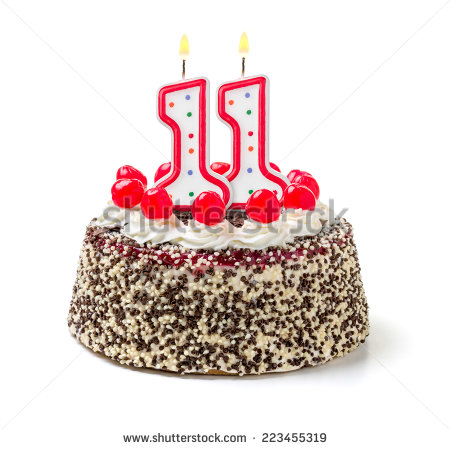 Birthday cake with candles for boy clipart clipart black and white library Images of 11 Candles - Perfect plan for your easter day clipart black and white library
