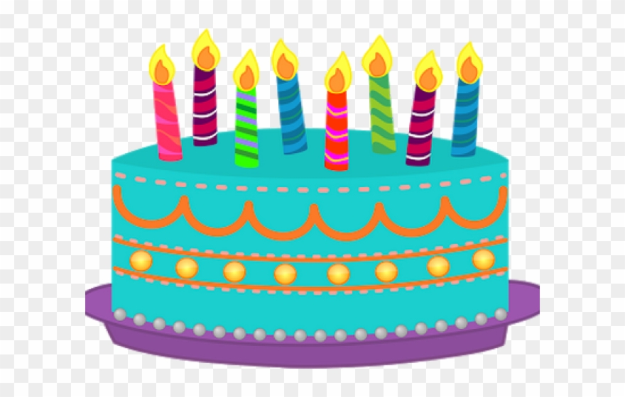 Birthday cake with candles not lit clipart image library Birthday Cake Clipart 4th - Birthday Cake With Candles Clipart - Png ... image library