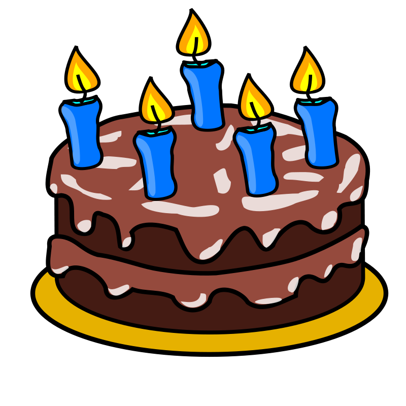 Birthday cake with candles not lit clipart graphic stock Free Birthday Cakes Images With Candles, Download Free Clip Art ... graphic stock