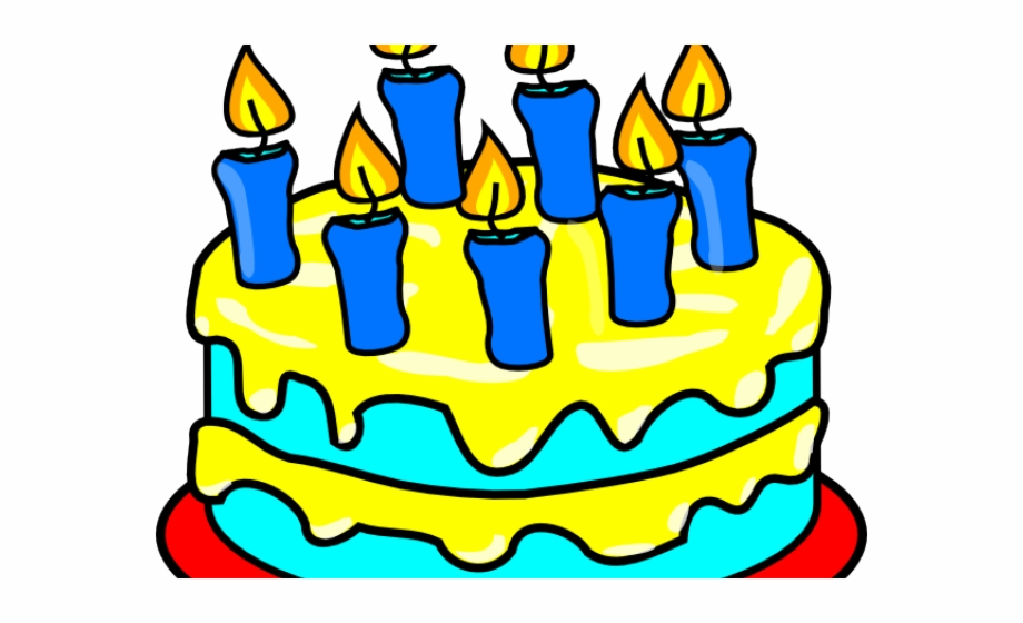 Birthday cake with candles not lit clipart image black and white download Birthday Candles Clipart Lit - Cake Clip Art Black And White ... image black and white download