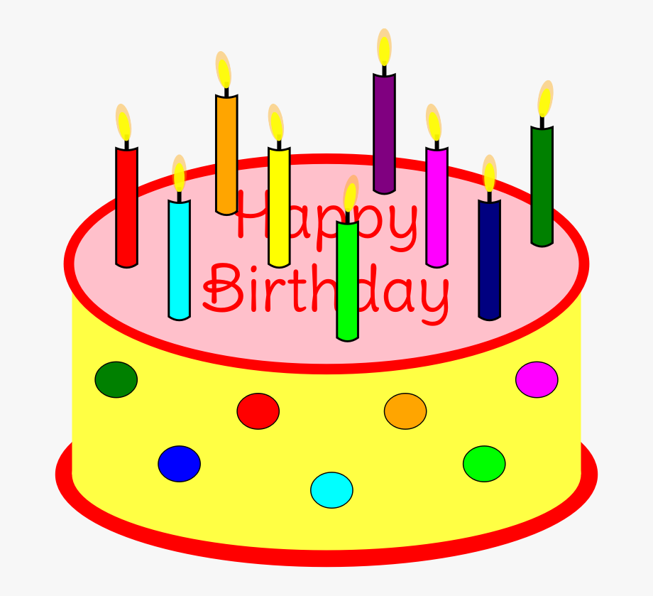 Birthday cake with candles not lit clipart banner library Bing Clipart Birthday Cake - Clip Art Birthday Cake With Candles ... banner library