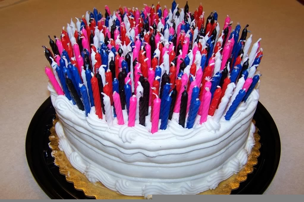 Clipart Of Birthday Cake With Candles | Free Images at Clker.com ... vector royalty free library