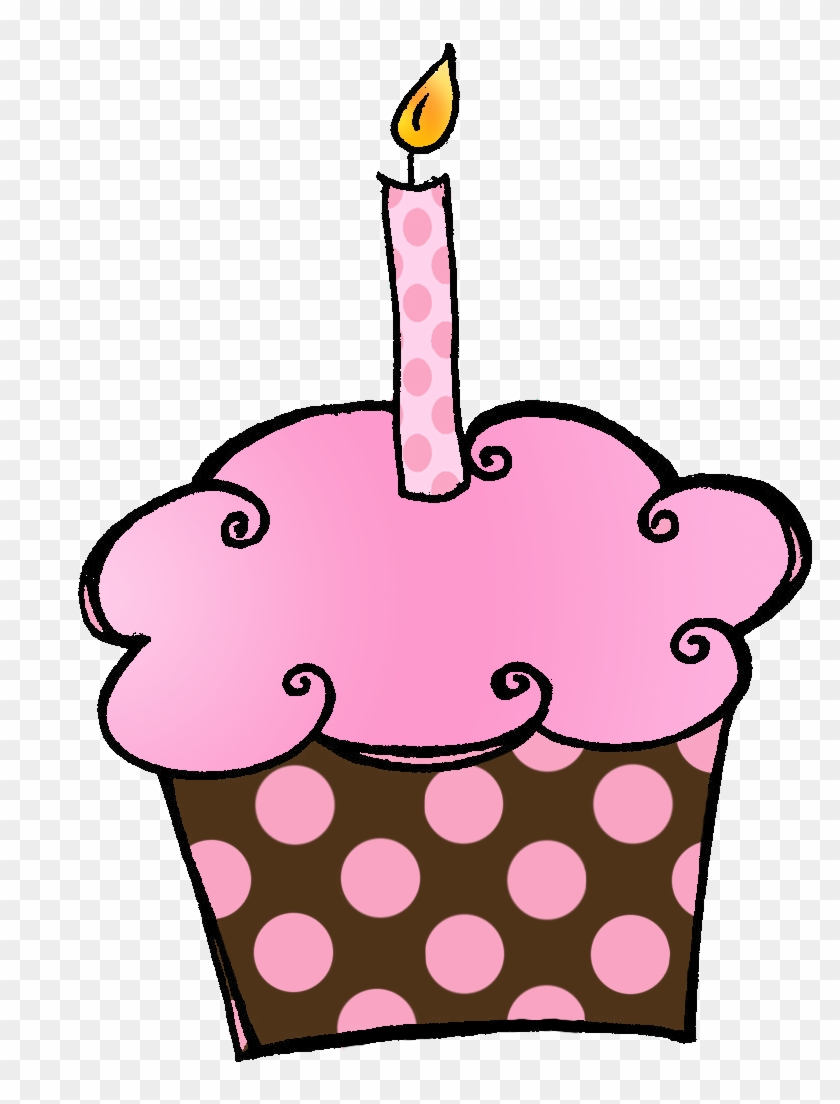 Birthday cake with months of the year clipart free png Birthday Cupcake Clip Art Free Clipart Images - Hello October ... png
