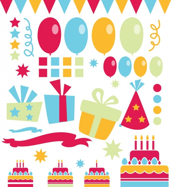 Birthday candle border clipart image freeuse library Birthday frame free vector download (6,525 Free vector) for ... image freeuse library