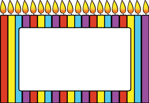 Birthday candle border clipart png freeuse stock Birthday candle border clipart - ClipartFest png freeuse stock