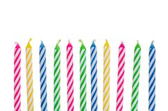 Birthday candle border clipart banner free library Birthday Candles Border Stock Images - Image: 2225704 banner free library