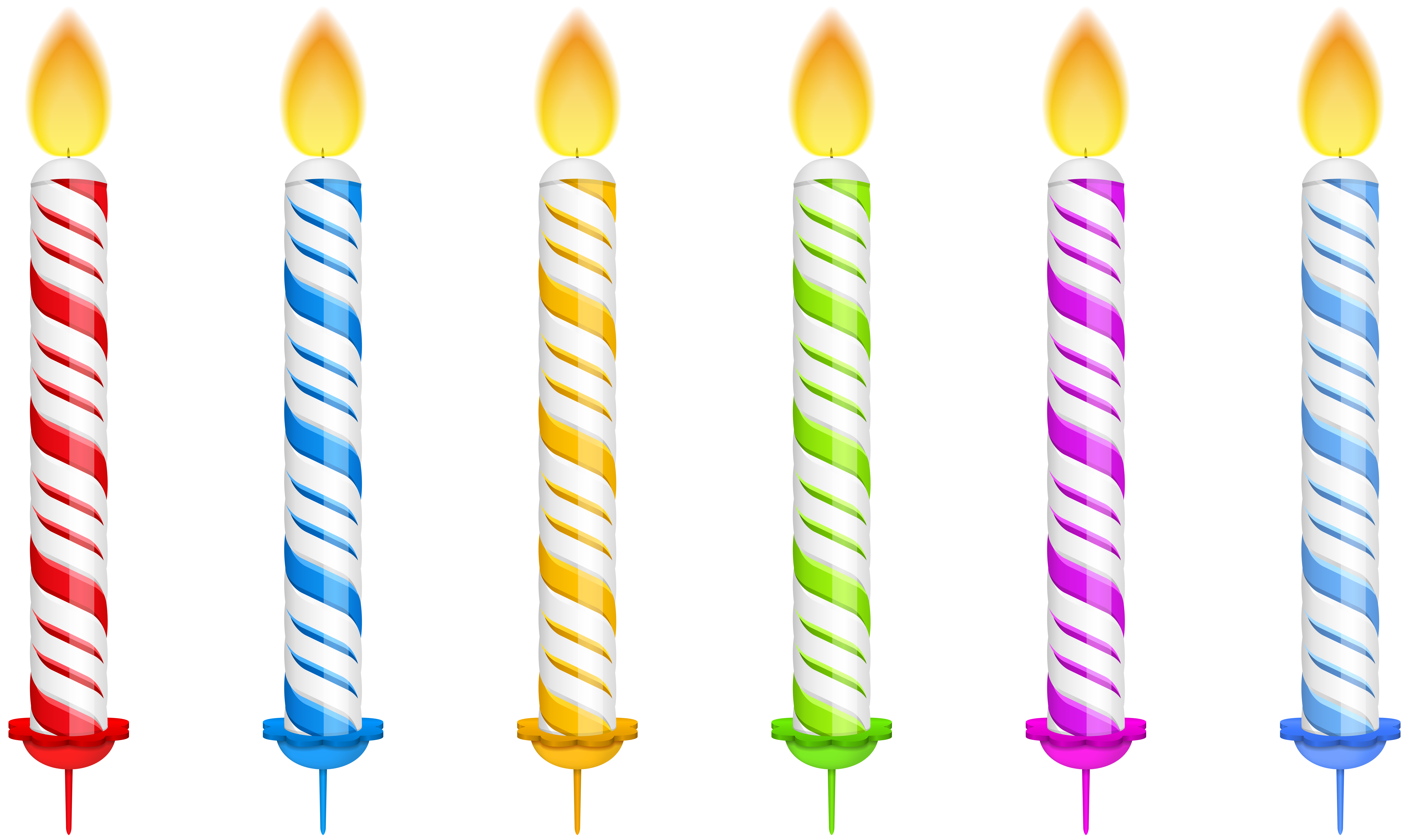 Free birthday candle clipart svg black and white stock Birthday Candle Clip Art – Clipart Free Download svg black and white stock