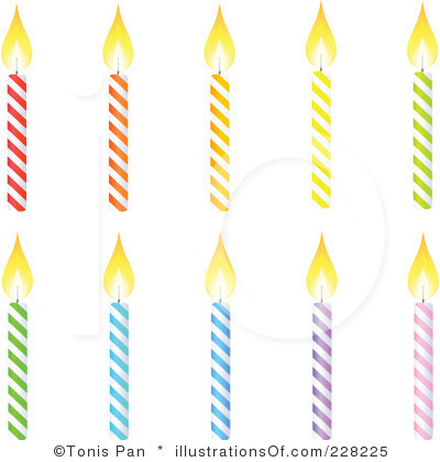 Birthday candle clip art. Clipart kid black and