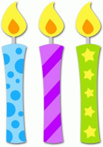 One clipart clipartfest. Birthday candle clip art