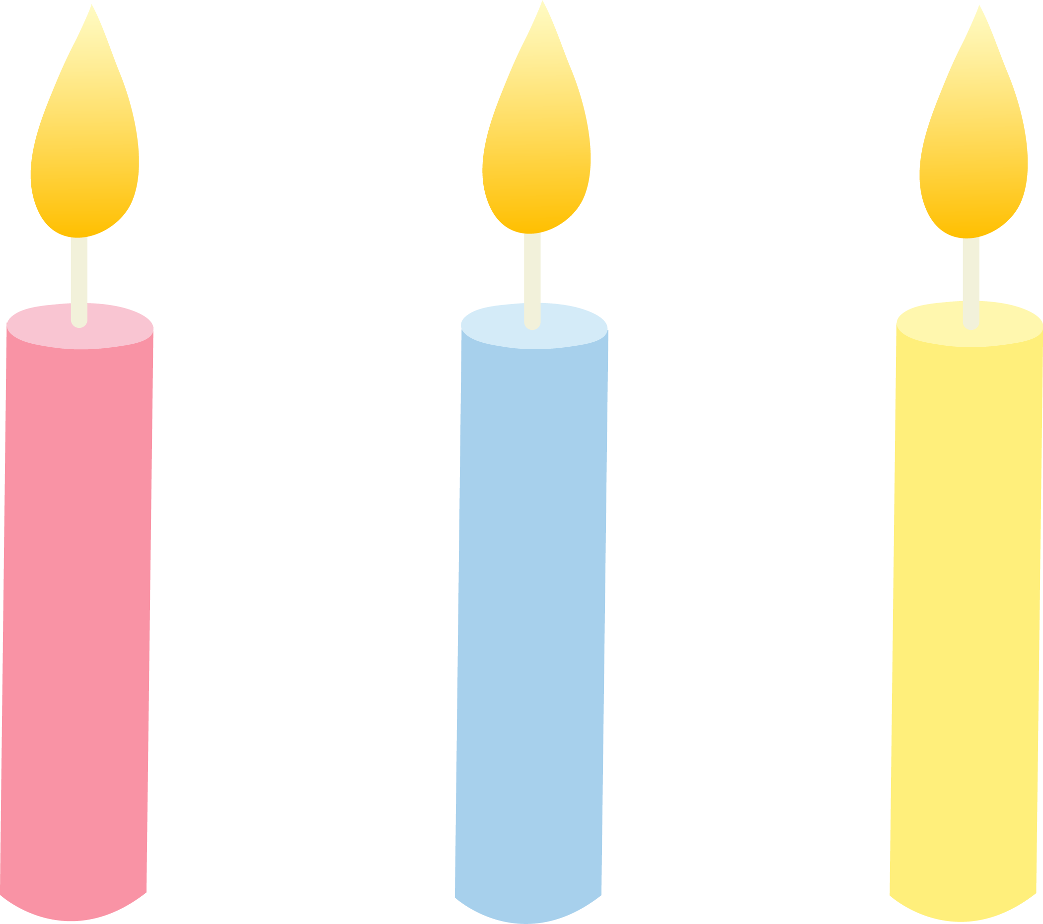 Birthday candle clip art. Candles clipartfest free