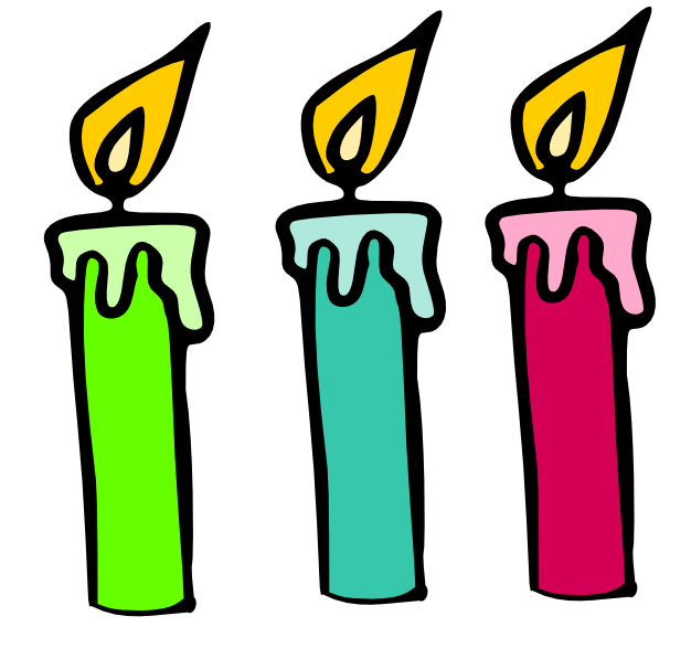 Birthday candle clip art. Clipart kid pictures best