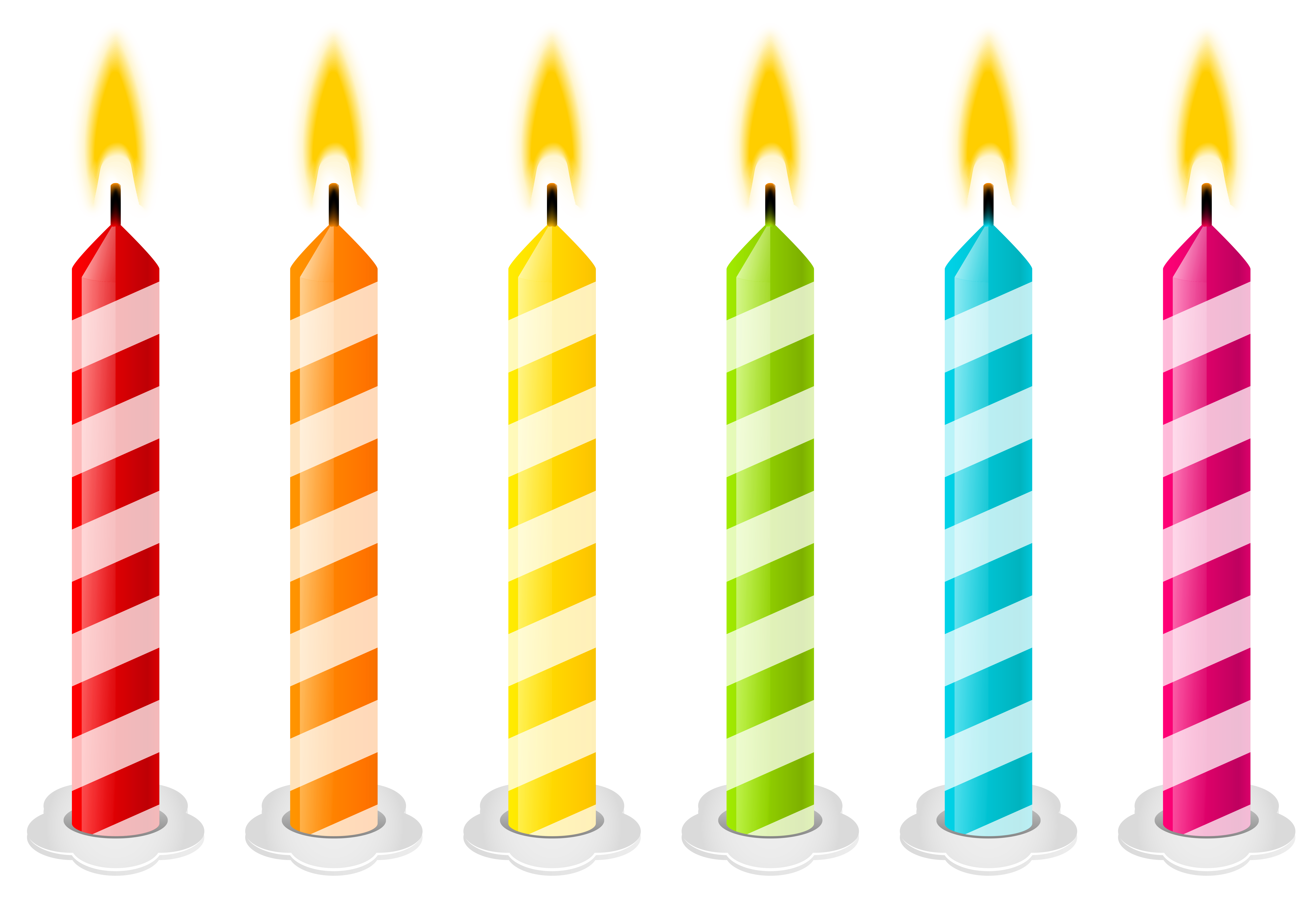 Clip art candles vector. Birthday candle clipart