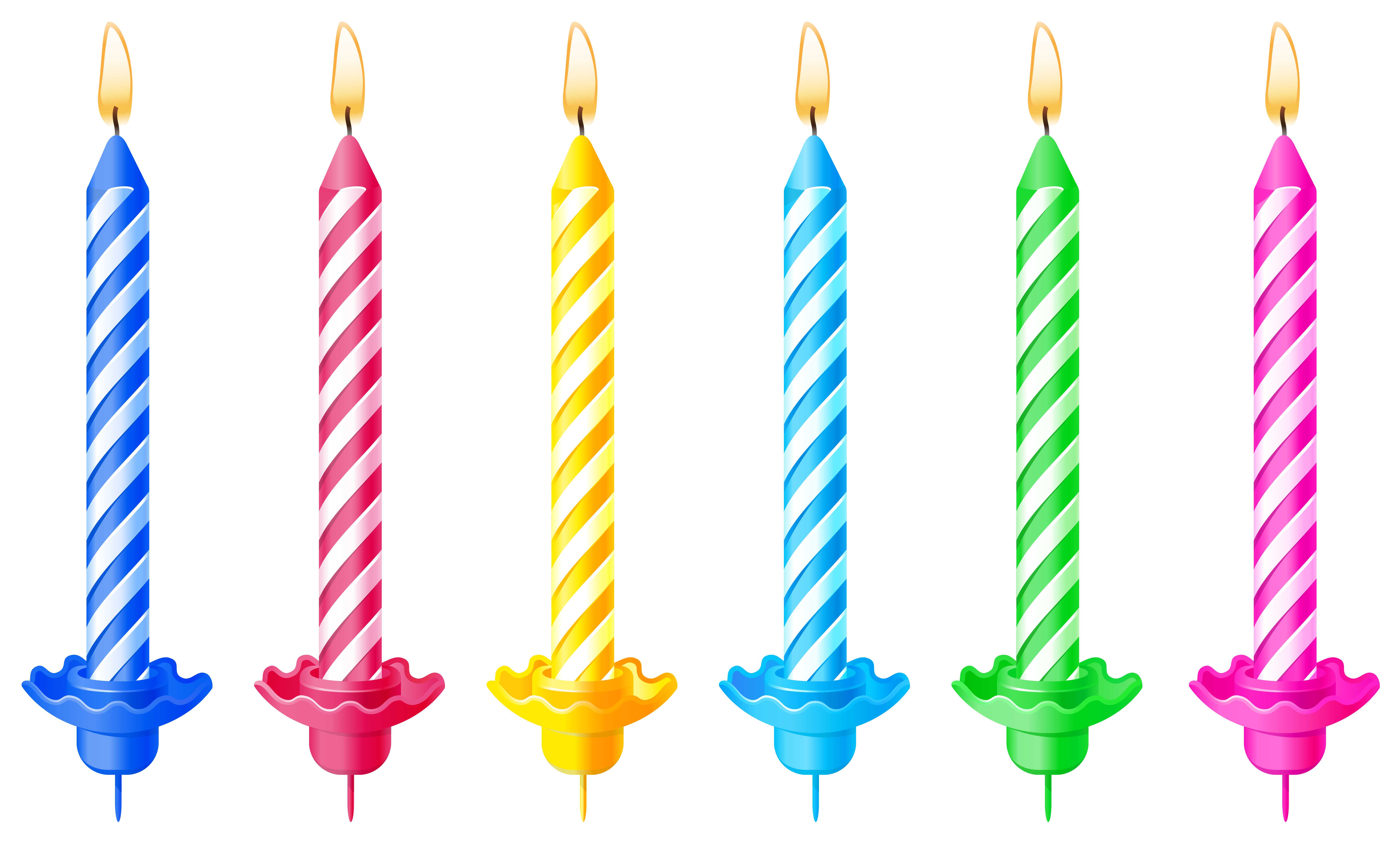 Birthday candle clipart. Clip art images riabnmt