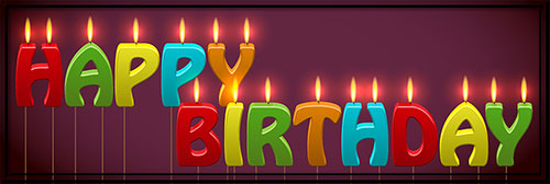 Birthday candle clipart animated svg library Free Birthday Clipart - Animations svg library