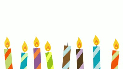 Clipartfest cartoon . Birthday candle clipart animated