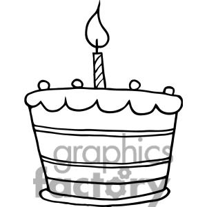 Birthday candle clipart black and white with lines graphic library library Birthday Candle Clipart Black And White | Clipart Panda - Free ... graphic library library
