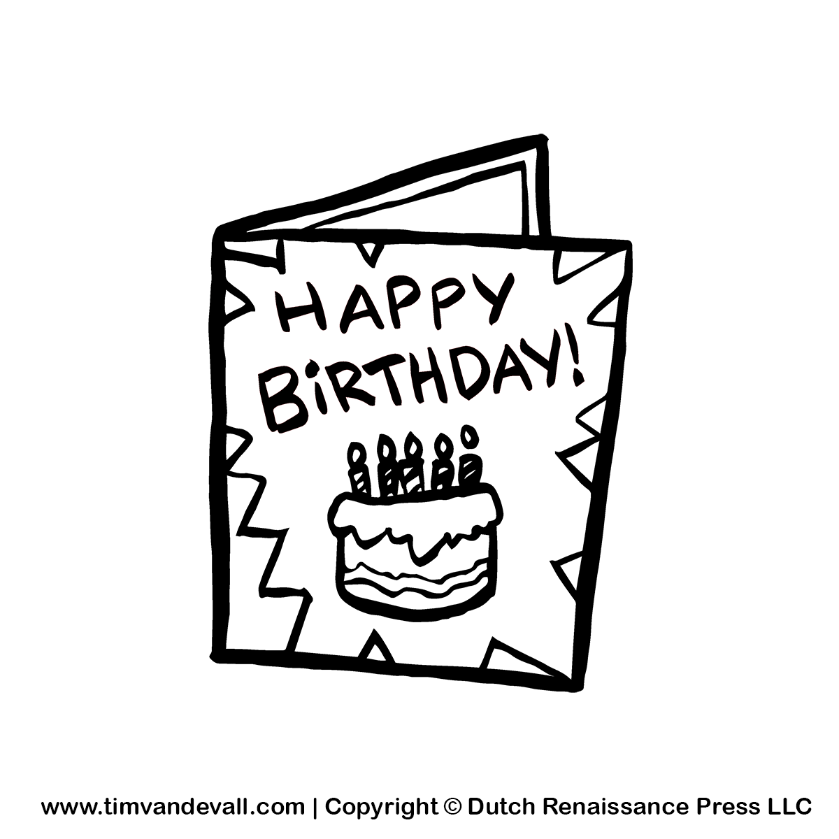 Clipart greeting cards graphic transparent stock Free Birthday Card Cliparts, Download Free Clip Art, Free Clip Art ... graphic transparent stock