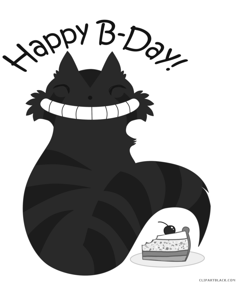 Cat birthday clipart banner transparent stock Birthday Cat Clipart - ClipartBlack.com banner transparent stock