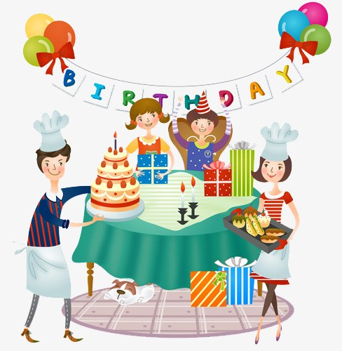 Birthday celebration clipart jpg freeuse stock Birthday celebration clipart 7 » Clipart Portal jpg freeuse stock