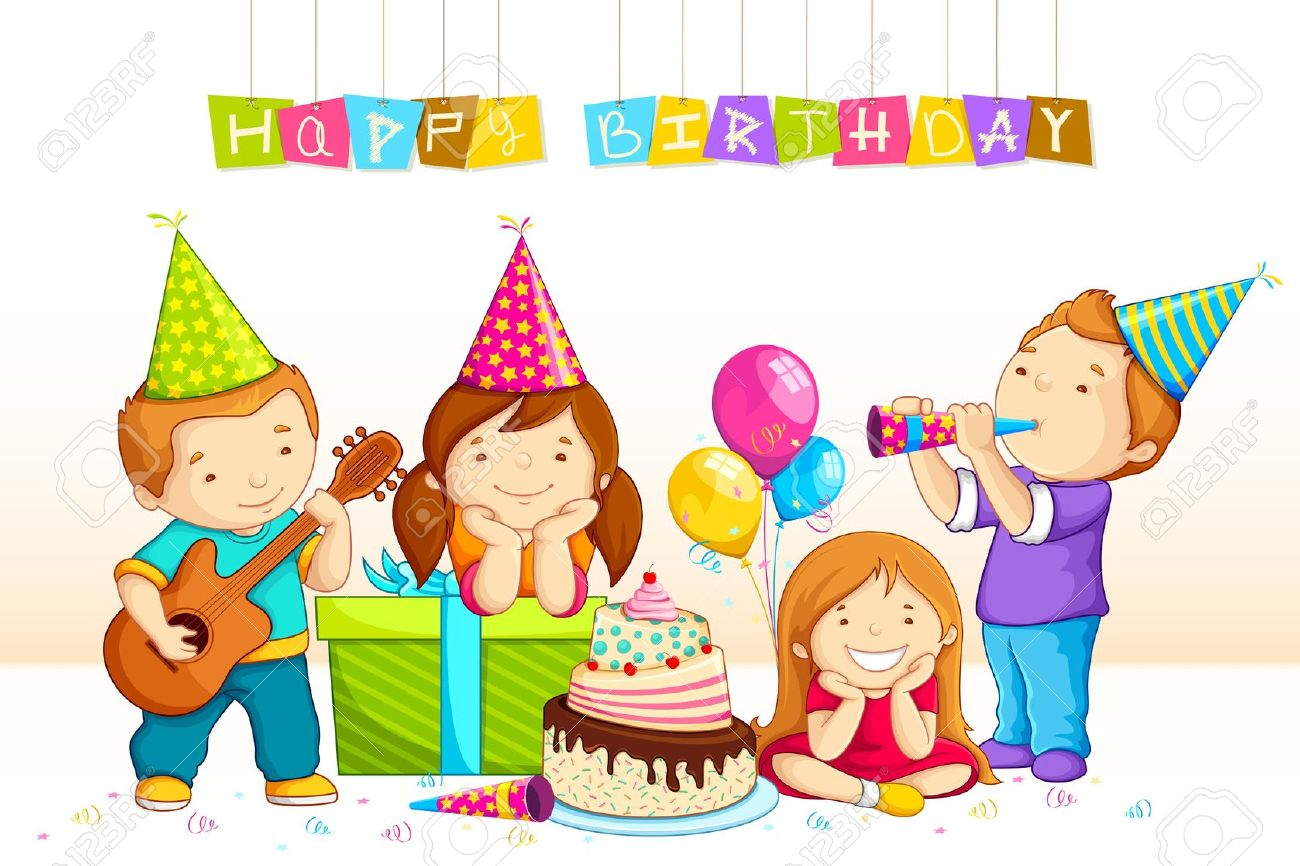 Birthday celebration clipart clipart black and white download Birthday celebration clipart 3 » Clipart Station clipart black and white download
