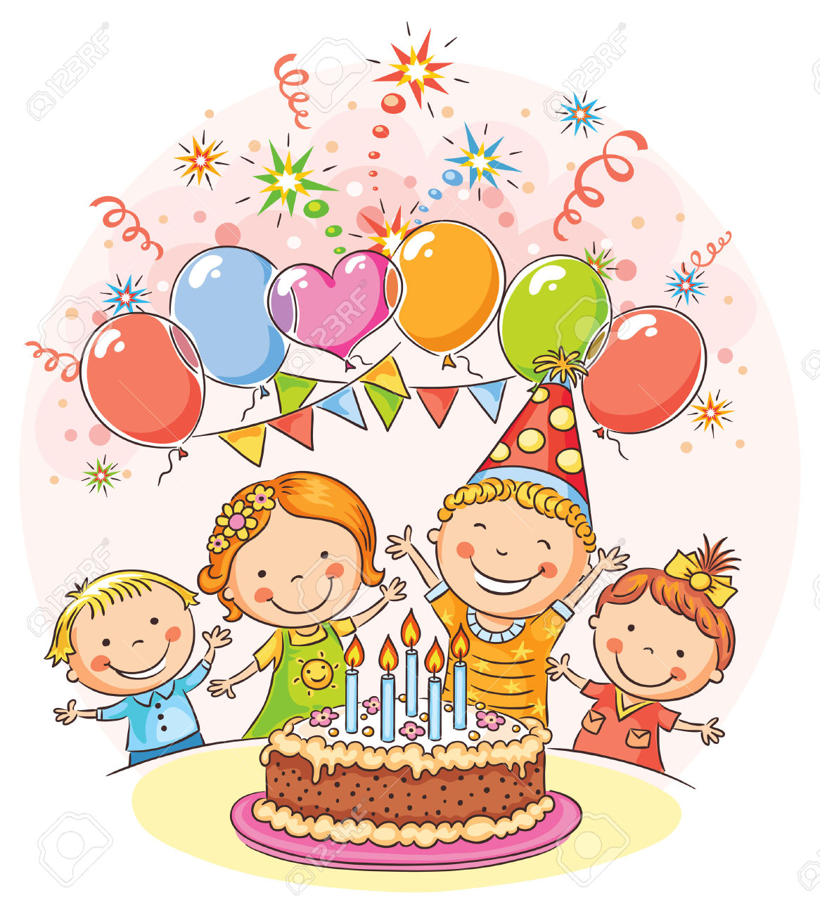 Birthday celebration clipart clipart free Free Birthday Party Clip Art, Download Free Clip Art, Free Clip Art ... clipart free
