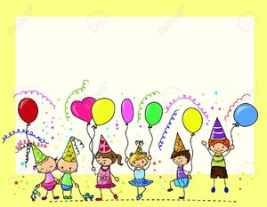 Childrens birthday clipart vector transparent stock Childrens Birthday Clipart | Free Images at Clker.com - vector clip ... vector transparent stock