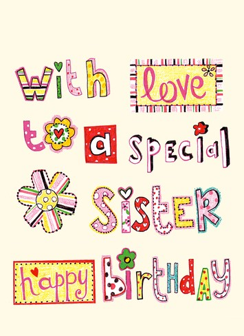 Birthday clipart for sister clip library library Happy Birthday Sister Clipart | salaharness.org clip library library