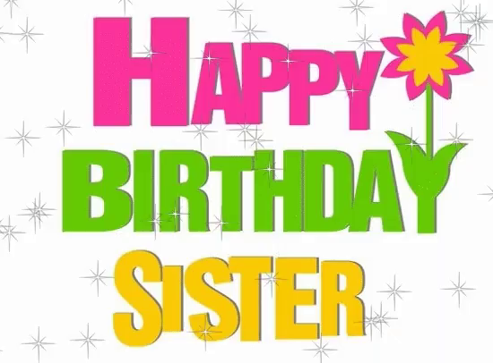 Birthday wishes for sister clipart vector library library Happy Birthday Sister GIFs | Tenor vector library library