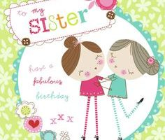 Birthday clipart for sister svg library library Birthday Sisters Cliparts - Making-The-Web.com svg library library