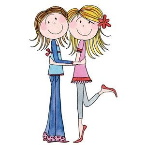Free Birthday Sisters Cliparts, Download Free Clip Art, Free Clip ... graphic freeuse library