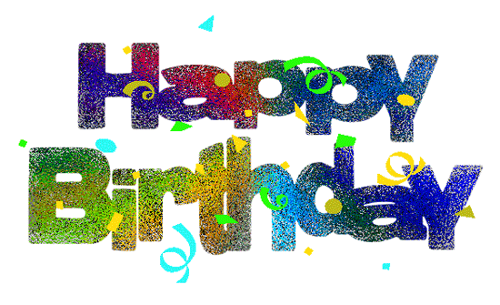 Birthday clipart free animated. Happy clipartfest