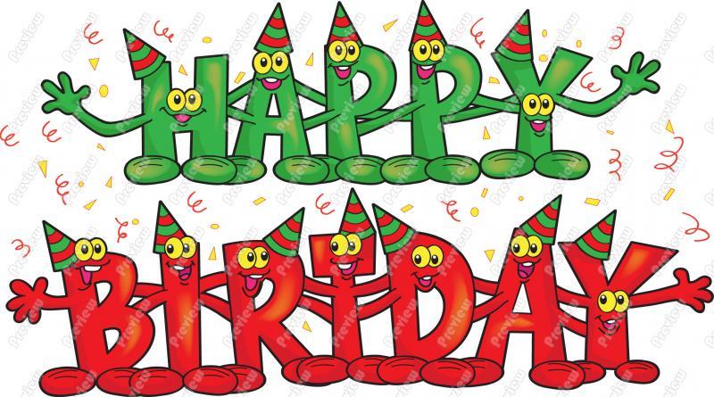 Birthday clipart free animated. Funny kid clip art